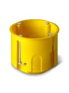 Puszka podtynkowa 60 do karton-gipsu głęboka 0220-0N żółta Elektro-Plast