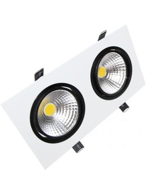 Oprawa LED downlight CARO 2x7W 1308lm 4000K Lightech
