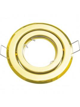 Oprawa halogenowa złota ruchoma