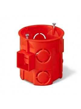 Puszka podtynkowa 60 łączona głęboka z wkrętami 0285-01 pomarańczowa Elektro-Plast