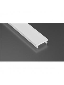 Klosz do profilu aluminiowego Lumines typ X1 transparentny 1m