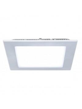 Oprawa LED downlight Slim 12W 3000K kwadrat SILVER Lightech