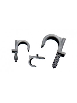 Uchwyt montażowy do rur PVC RING-20 szary (100 szt.) Marten