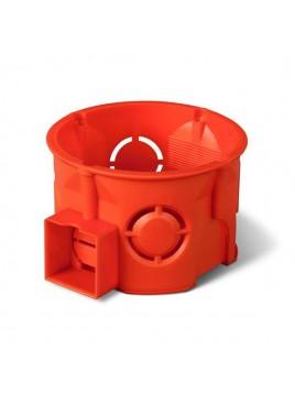 Puszka podtynkowa 60 łączona płytka 0284-00 pomarańczowa Elektro-Plast