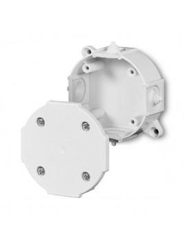 Puszka natynkowa hermetyczna IP41 okrągła 80x34 biała 0211-00 Elektro-Plast