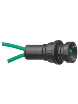 Lampka kontrolna LED KLP-5 zielona 230V D.3303 Pawbol