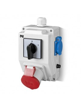 Zestaw siłowy RS-Z wyłącznik 0-1 gniazdo 1x32A/5P 2x230V 6276-00 Elektro-Plast