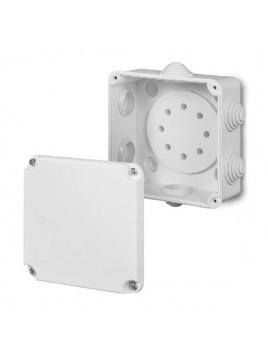 Puszka natynkowa PK-2 hermetyczna IP55 108x108x58 biała 0222-00 EP-Lux Elektro-Plast