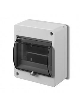 Obudowa natynkowa izolacyjna S-5 z szybką 2305-11/0642-03 Elektro-Plast