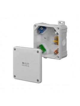 Puszka natynkowa hermetyczna IP65 98x98x46 wkład 5x2,5 0290-41 2K Elektro-Plast