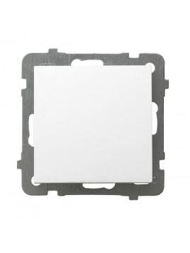 Łącznik pojedynczy biały ŁP-1G/m/00 As Ospel