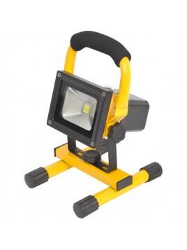 Oprawa LED naświetlacz COB 10W akumulatorowy Lightech
