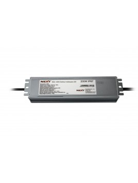 Zasilacz do LED płaski Slim 200W 12VDC IP67 Next