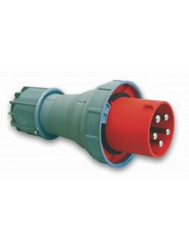 Wtyczka siłowa przenośna 63A 5P 400V IP67 135-6p PCE