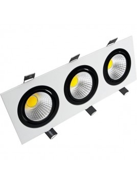 Oprawa LED downlight CARO 3x5W 1164lm 4000K Lightech