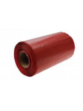 Folia taśma ostrzegawcza do kabli czerwona szerokość 200mm (opakowanie 100 mb)