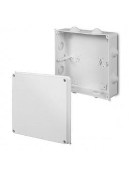 Puszka natynkowa PK-8 hermetyczna IP55 196x196x78 biała 0231-00 EP-Lux Elektro-Plast