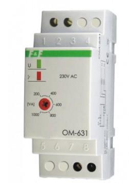 Ogranicznik poboru mocy na szynę 16A 230V 200-1000W 30 sek OM-631 F&F