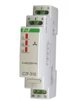 Czujnik zaniku i asymetrii faz na szynę CZF-310 F&F