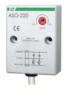 Automat schodowy natynkowy 10A 230V ASO-220 F&F