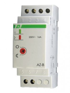 Automat zmierzchowy na szynę z sondą 16A 230V AZ-B F&F