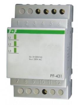 Automatyczny przełącznik faz na szynę PF-431 F&F