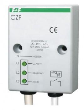 Czujnik zaniku i asymetrii faz natynkowy CZF F&F