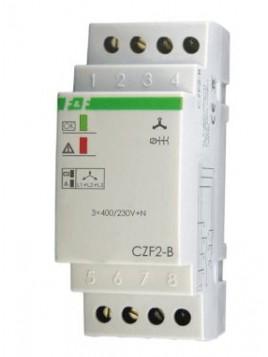 Przekaźnik kontroli faz na szynę CZF-2B F&F