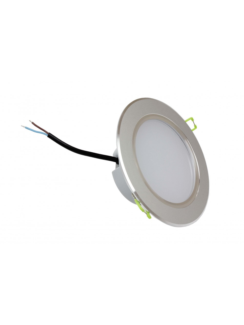 oprawa downlight 9w eco led 3000k chrom mat lightech. Black Bedroom Furniture Sets. Home Design Ideas