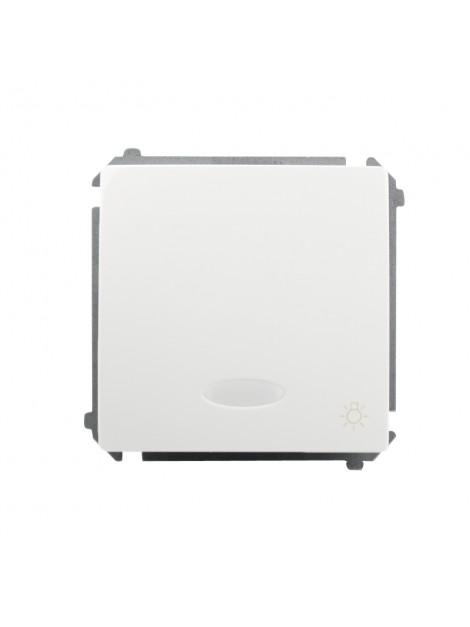 Łącznik zwierny światło podświetlany biały BMS1L.01/11 Kontakt-Simon Basic