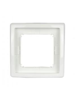 Ramka pojedyncza hermetyczna IP44 biała BMR1B/11 Kontakt-Simon Basic