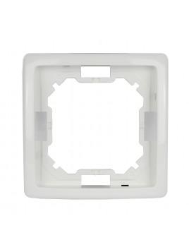 Ramka pojedyncza biała BMR1/11 Kontakt-Simon Basic