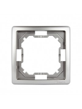 Ramka pojedyncza inox BMR1/21 Kontakt-Simon Basic