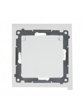 Gniazdo pojedyncze hermetyczne IP44 białe DGZ1BZ.01/11 Kontakt Simon54