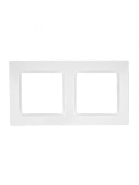 Ramka podwójna biała CR2/11 Kontakt Simon10