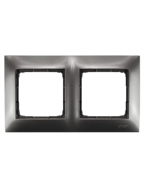Ramka podwójna karton-gips antracytowa DRK2/48 Kontakt Simon54