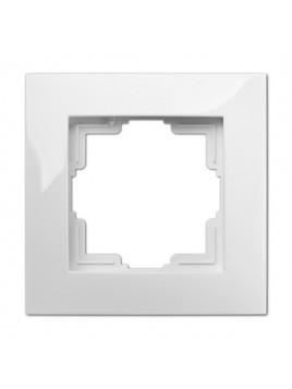 Ramka pojedyncza hermetyczna IP44 biała 1771-40 Carla Elektro-Plast
