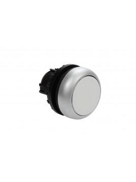Przycisk z samopowrotem, płaski, biały, IP67,  M22-D-W 216592 EATON