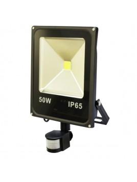 Naświetlacz LED COB NNL-50C-P 50W z czujnikiem ruchu PIR BLACK Next