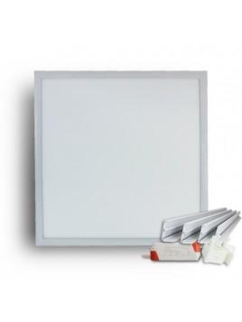 Oprawa panel LED natynkowa 48W 3800lm 605x605 4000K kolor biały Lightech