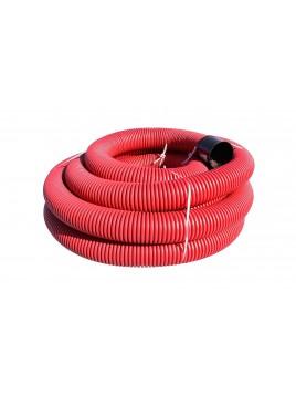 Rura osłonowa karbowana 160 czerwona 25m TT Plast
