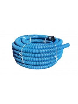 Rura osłonowa karbowana 75 niebieska 50m TT Plast