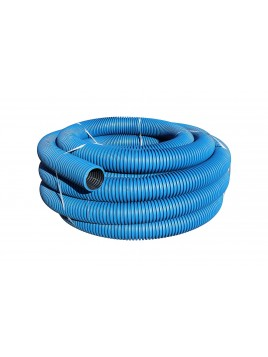 Rura osłonowa karbowana 110 niebieska 25m TT Plast