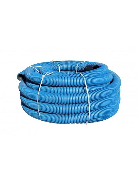 Rura osłonowa karbowana 110 niebieska 50m TT Plast