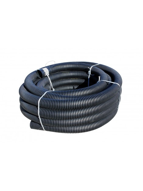 Rura karbowana dwuścienna RODK-UV 75 25m czarna TT PLAST