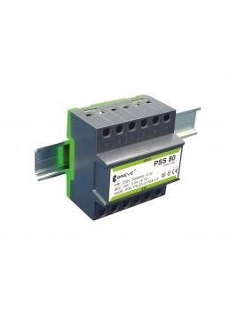 Transformator 1-fazowy na szynę PSS 80VA 230/24V 16024-9889 Breve