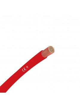Przewód miedziany H07V-k LGY 6 mm2 czerwony 750V