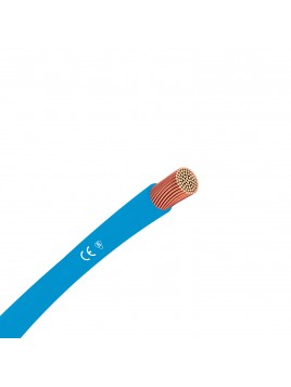 Przewód miedziany H07V-k LGY 6 mm2 niebieski 750V