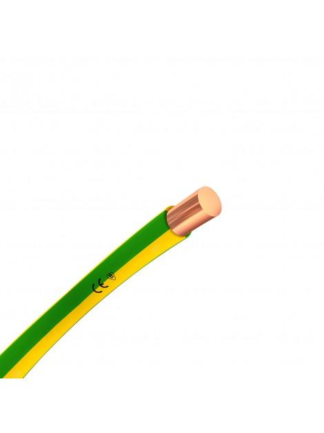 Przewód miedziany H07V-U 2,5mm2 żo DY 750V