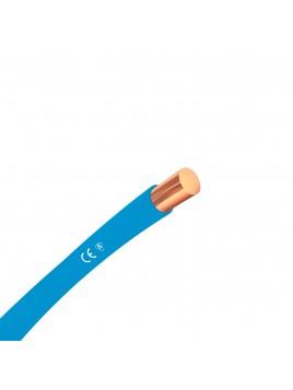 Przewód miedziany H07V-U 10mm2 niebieski DY 750V